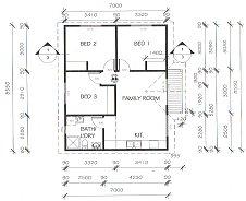 All purpose homes granny flat designs for 3 bedroom granny flat designs