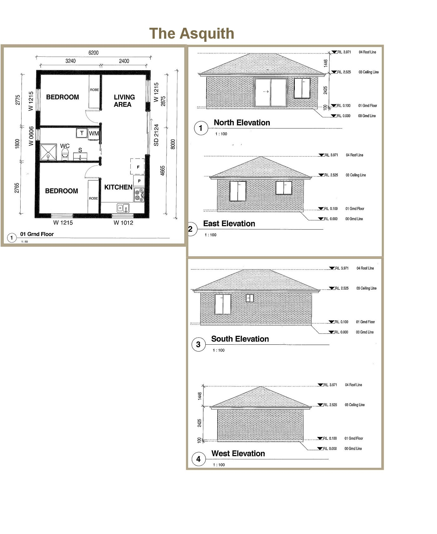 All purpose homes granny flat designs 2 bedroom flat plans