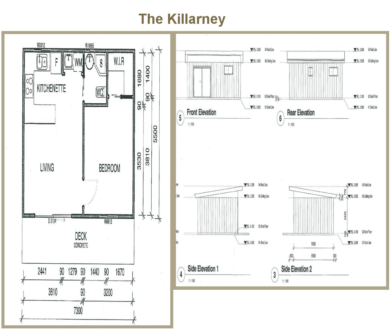All purpose homes granny flat designs for Plan of a flat